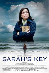 Sarah's Key movie poster [Kristin Scott Thomas] original 27 X 40