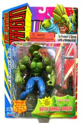 The Savage Dragon: Battle Damage Dragon figure (Playmates/1995)