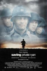Saving Private Ryan movie poster [Tom Hanks/Matt Damon] original 27x40