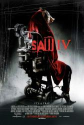 Saw IV movie poster (2007) 27x40 original one-sheet