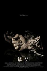 Saw VI movie poster (2009) ''Trust In Him'' tagline