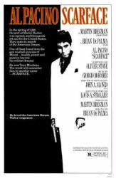 Scarface movie poster [Al Pacino] 11'' X 17''