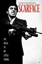 Scarface movie poster: Say Hello To My Little Friend [Al Pacino] 24x36