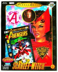 Famous Covers: Scarlet Witch 8'' action figure [ToyBiz/2000)