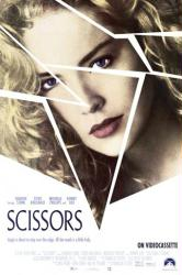 Scissors movie poster [Sharon Stone] 27x40 video version