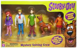 Scooby-Doo: Mystery Solving Crew action figures set of 5 (Charter Ltd)