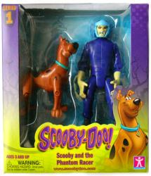 Scooby-Doo: Scooby and the Phantom Racer figures (Charter)