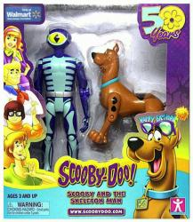 Scooby-Doo 50 Years: Scooby and the Skeleton Man figures (Charter Ltd)