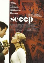 Scoop movie poster postcard [Hugh Jackman & Scarlett Johansson]