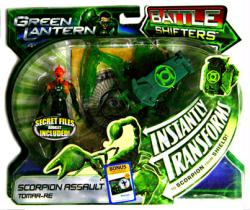 Green Lantern [Battle Shifters] Scorpion Assault Tomar-Re figure