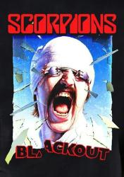 Scorpions poster: Blackout (24x36) album cover art