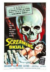 The Screaming Skull movie poster (1958 horror film) 18x24