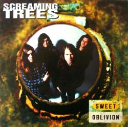 Screaming Trees poster: Sweet Oblivion vintage LP/Album flat (1992)