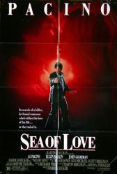 Sea of Love movie poster [Al Pacino, Ellen Barkin] original 27x40