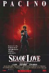 Sea of Love movie poster [Al Pacino & Ellen Barkin] video version
