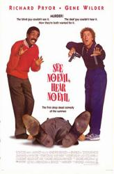 See No Evil, Hear No Evil movie poster [Gene Wilder, Richard Pryor]