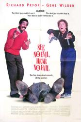 See No Evil, Hear No Evil movie poster [Richard Pryor, Gene Wilder]