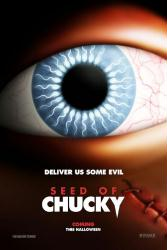 Seed of Chucky movie poster (2004) original 27x40 advance VG
