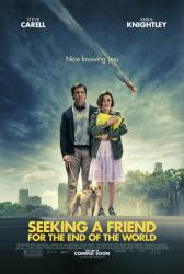 Seeking A Friend For the End of the World poster [Carell/Knightley]