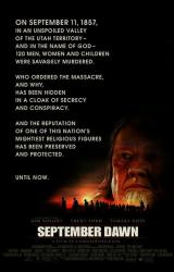 September Dawn movie poster [Jon Voight] (2007) 27x40 original