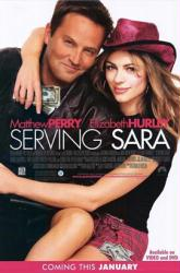 Serving Sara movie poster [Matthew Perry, Elizabeth Hurley] 27x40