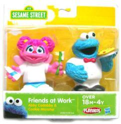 Sesame Street: Abby Cadabby & Cookie Monster Friends at Work figures