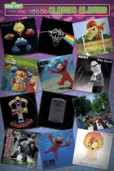 Sesame Street poster: Classic Albums (24'' X 36'') New