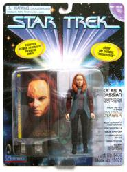 Star Trek: Seska as a Cardassian action figure (Playmates/1997)