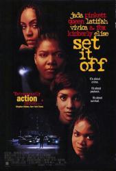 Set It Off movie poster [Jada Pinkett Smith, Queen Latifah] 27x40