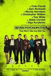 Seven Psychopaths movie poster [original 27 X 40 one-sheet]