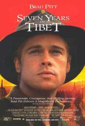 Seven Years In Tibet movie poster [Brad Pitt] 27x40 video poster