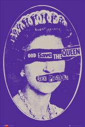The Sex Pistols poster: God Save the Queen (24x36)