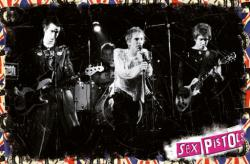 Sex Pistols poster: Live On Stage (36x24)