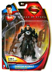 Man of Steel: Shadow Assault General Zod action figure (Mattel/2013)
