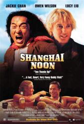 Shanghai Noon movie poster [Jackie Chan & Owen Wilson] video poster/NM