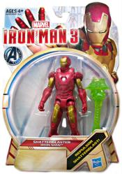 Iron Man 3: Shatterblaster Iron Man action figure (Hasbro/2012)