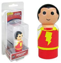 Justice League: Shazam Pin Mate #67 wooden figure (Bif Bang Pow)