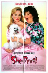 She-Devil movie poster [Meryl Streep, Roseanne Barr] original 27x41
