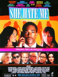 She Hate Me movie poster [Anthony Mackie, a Spike Lee film] 18x24