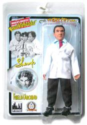 "The Three Stooges: Fuelin' Around Shemp 8"" retro-style action figure"
