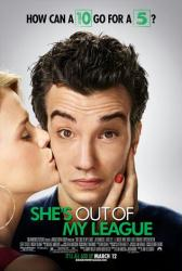 She's Out of My League movie poster [Jay Baruchel & Alice Eve]