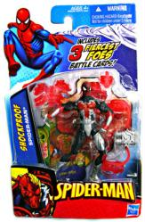Spider-Man: Shockproof Spider-Man action figure (Hasbro/2009)
