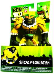 "Ben 10 Omniverse: 5 1/2"" Shocksquatch action figure (Bandai/2013)"