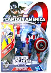 Captain America Winter Soldier: Shockwave Blast Captain America figure