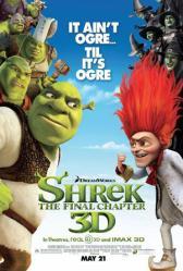 Shrek Forever After movie poster (original one-sheet) 27x40