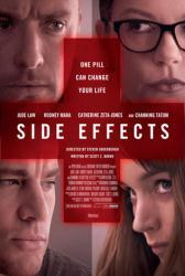 Side Effects movie poster [Jude Law, Channing Tatum, Zeta-Jones] 27x40