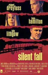 Silent Fall movie poster /Richard Dreyfuss/Linda Hamilton/John Lithgow