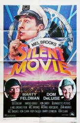 Silent Movie movie poster [Mel Brooks, Marty Feldman] original 27x41