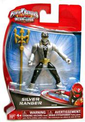 Power Rangers Super MegaForce: Silver Ranger action figure (BanDai)