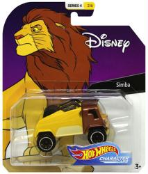 Hot Wheels Character Cars: Disney Simba die-cast vehicle